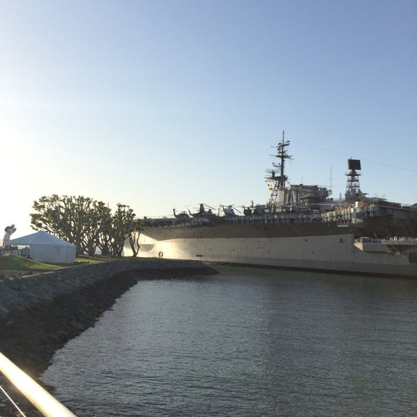 Photo taken at USS Midway Museum by Abdulaziz A. on 3/16/2014