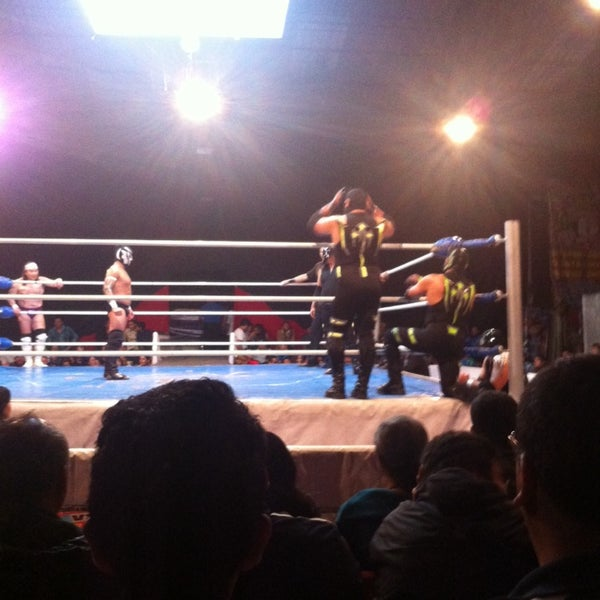 Photo taken at Arena Adolfo Lopez Mateos by Greco S. on 11/15/2014