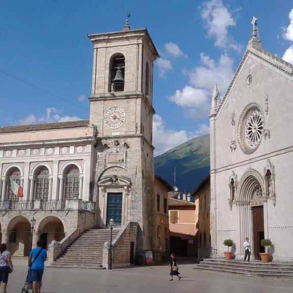 Photo taken at Norcia by Simone P. on 6/7/2014