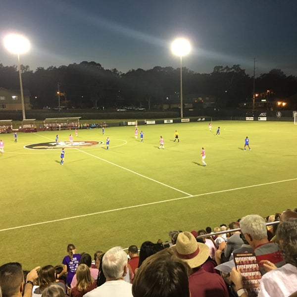 Photo taken at The Seminole Soccer Complex by Lulamei on 10/20/2016