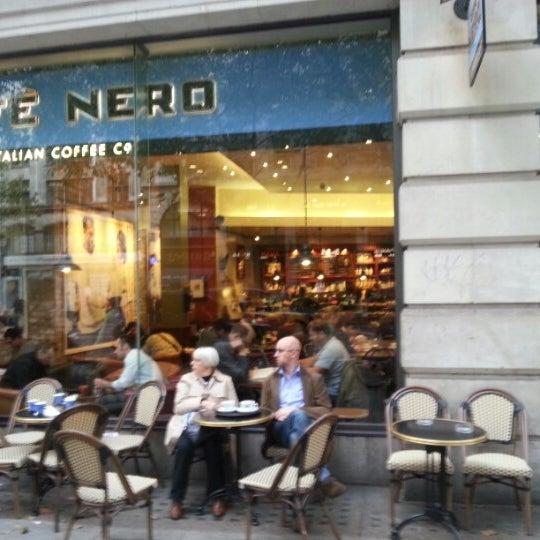 Photo taken at Caffè Nero by David W. on 10/4/2012