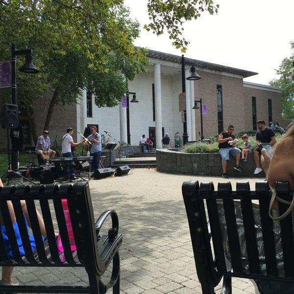 Photo taken at Danbury Public Library by Angela W. on 8/25/2016