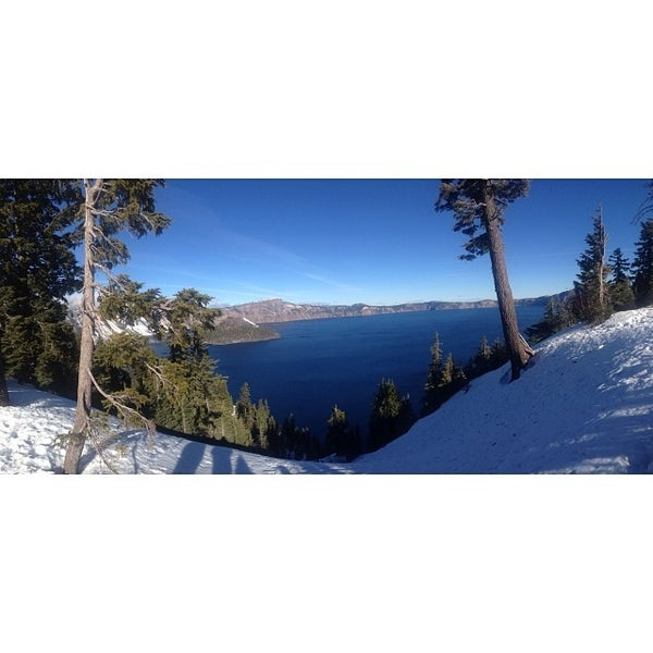 Photo taken at Crater Lake National Park by Ally S. on 1/3/2014