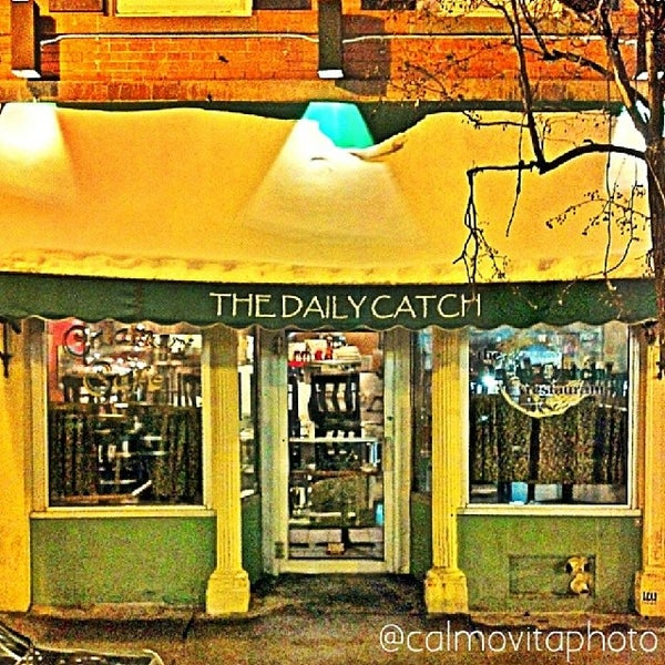 Photo taken at The Daily Catch by Billy Calmovita Photo on 2/8/2014