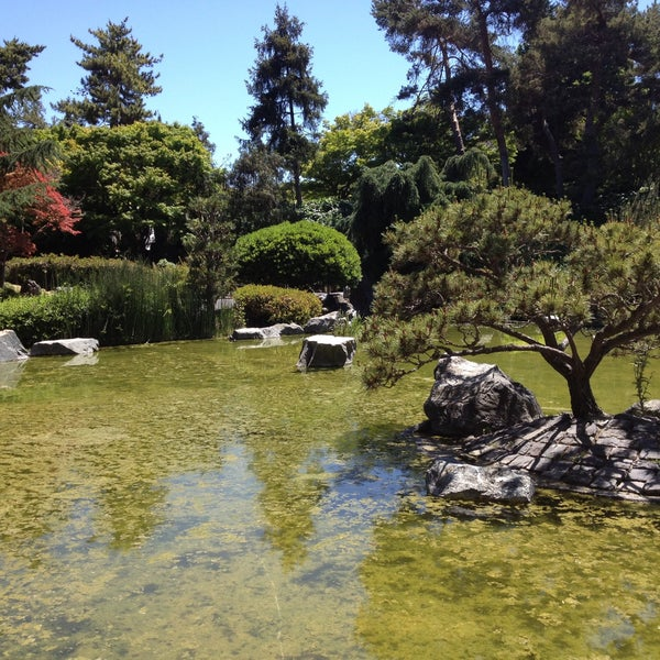 Photo taken at Japanese Friendship Garden by Mikael V. on 5/12/2013