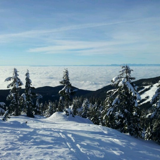 Photo taken at Cypress Mountain by Colleen M. on 2/2/2013