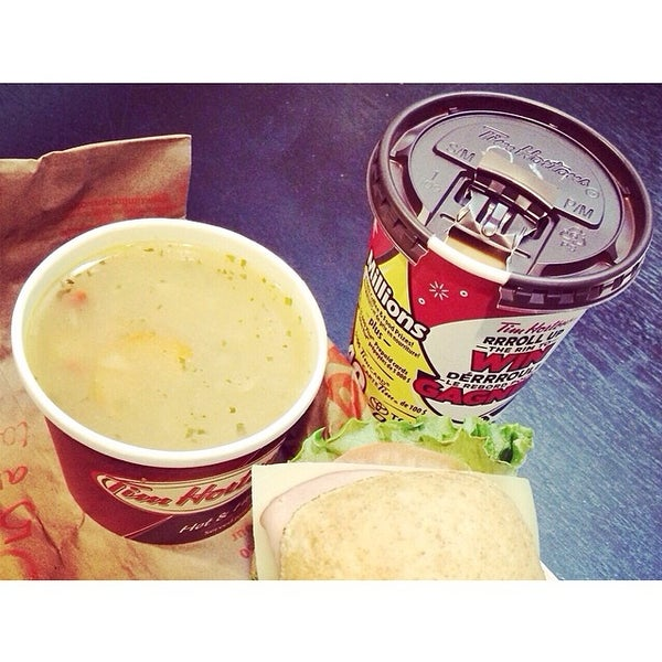 Photo taken at Tim Hortons by Danielle on 3/4/2014