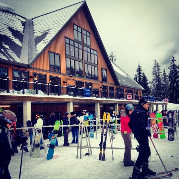 Photo taken at Cypress Mountain Ski Area by Pita C. on 1/6/2013