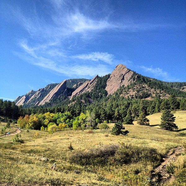 Photo taken at Chautauqua Park by Garrett Y. on 9/15/2012