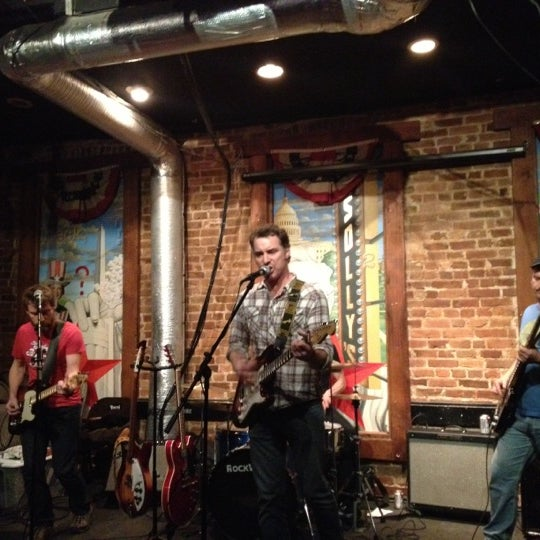 Photo taken at Solly's U Street Tavern by Mike M. on 11/9/2012
