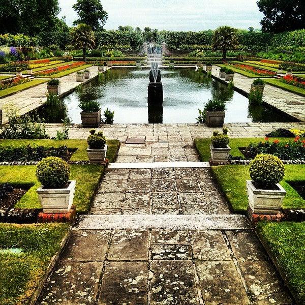 Photo taken at Kensington Gardens by Afnan on 6/17/2013
