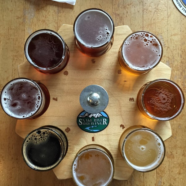 Photo taken at Snake River Brewery & Restaurant by Craig K. on 2/4/2015