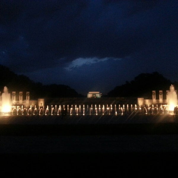 Photo taken at World War II Memorial by Michael M. on 6/29/2013