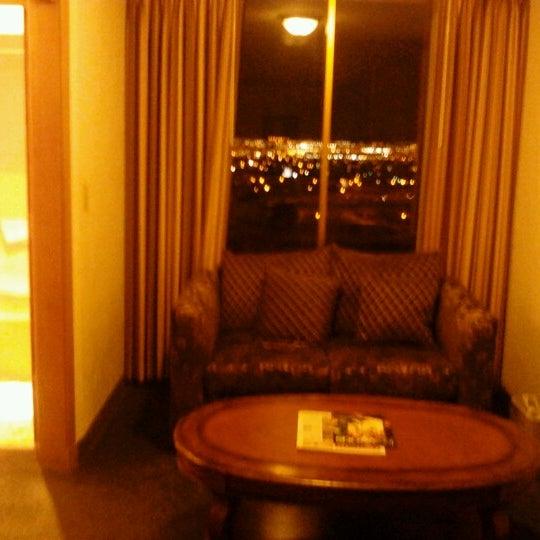 Photo taken at El Cortez Hotel & Casino by Julian B. on 9/29/2012