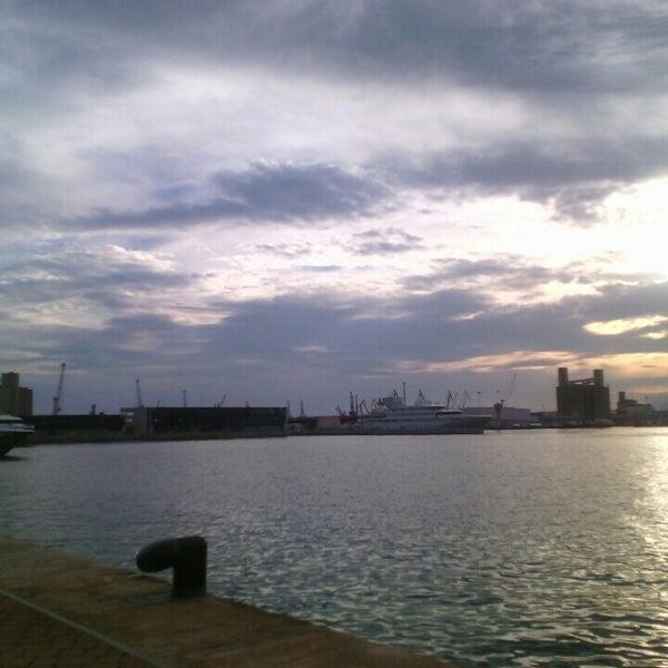 Photo taken at Port de Tarragona by Mariana R. on 9/15/2015