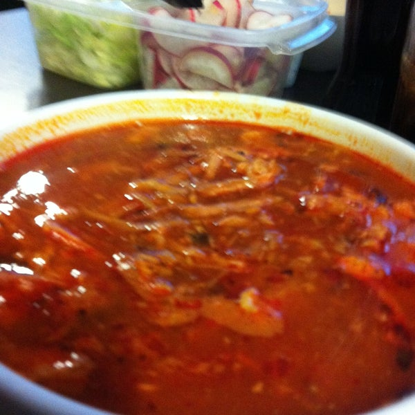 Photo taken at Pozole y Tacos Regios by Natalia D. on 5/25/2013
