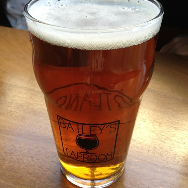 Photo taken at Bailey's Taproom by Edna C. on 3/8/2013