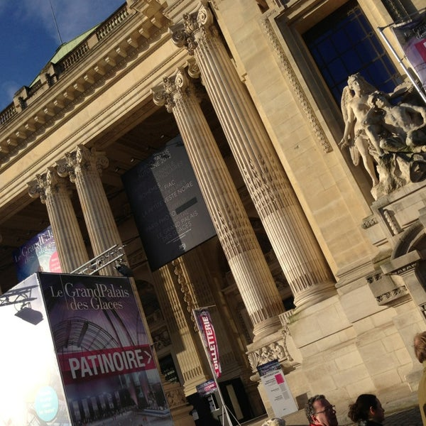 Photo taken at Grand Palais by Gonzalo H. on 12/30/2012
