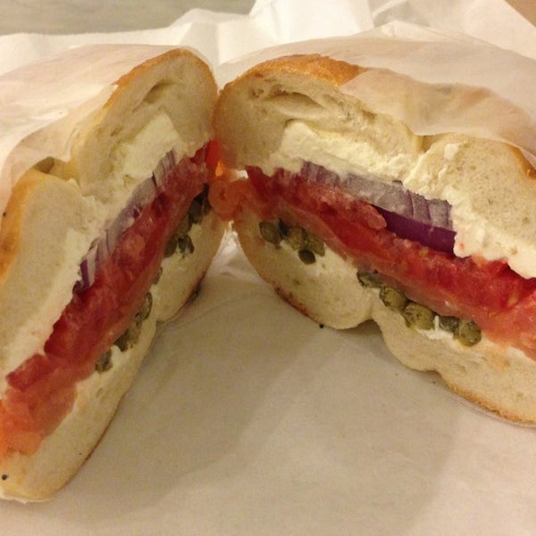 Photo taken at Murray's Bagels by Lyvia M. on 10/5/2013