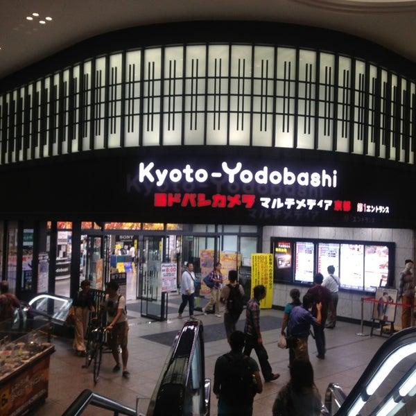 Photo taken at Kyoto-Yodobashi by Siti R. on 9/21/2013