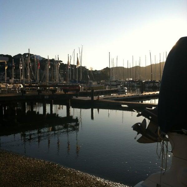 Photo taken at San Francisco Yacht Club by Chandra B. on 2/9/2013