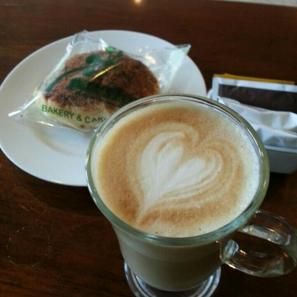 Photo taken at Parsley Bakery & Cake Shop by Meilani R A. on 2/29/2016