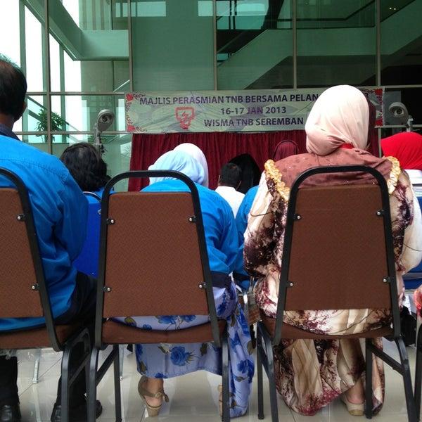 Photo taken at TNB Seremban by Mohd Syafiq B. on 1/16/2013