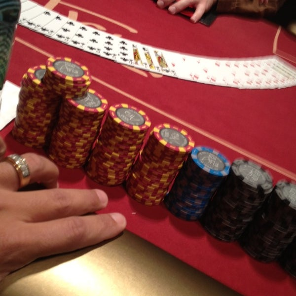 Photo taken at Aria Poker Room by Robert G. on 9/1/2014
