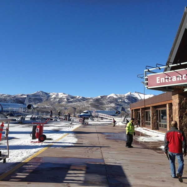 Photo taken at Aspen - Pitkin County Airport (ASE) by Chase S. on 12/20/2012
