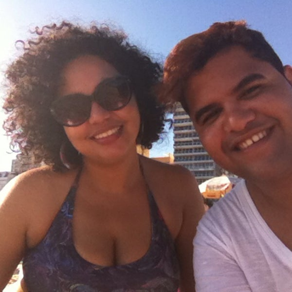 Photo taken at Praia de Ipanema by Wesley V. on 3/14/2014