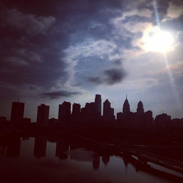 Photo taken at South Street Bridge by Zach T. on 7/3/2014