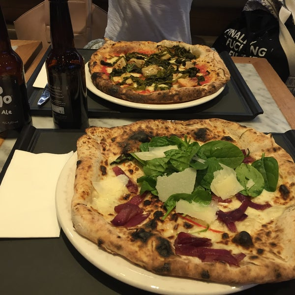 Photo taken at Franco Manca by Ali R. on 5/22/2016