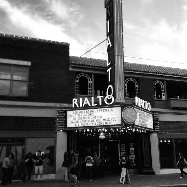 Photo taken at The Rialto Theatre by Adan H. on 2/28/2014
