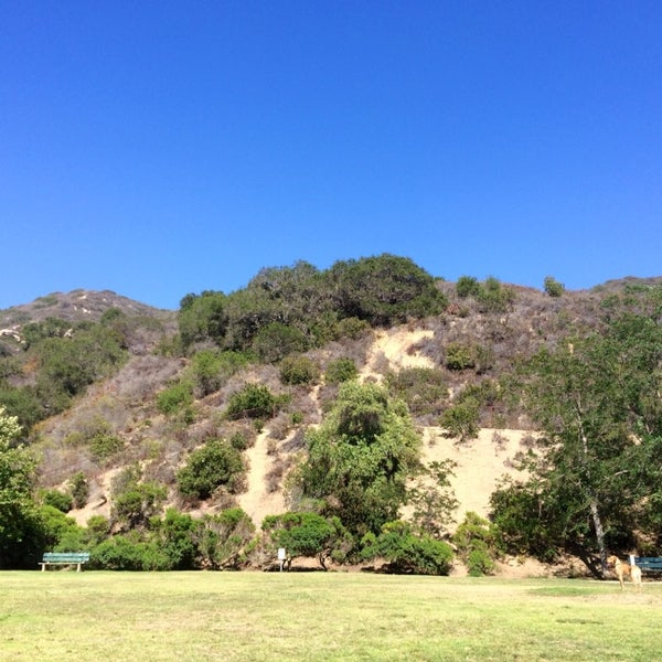 Photo taken at Laguna Canyon Dog Park by Anoop R. on 6/23/2014