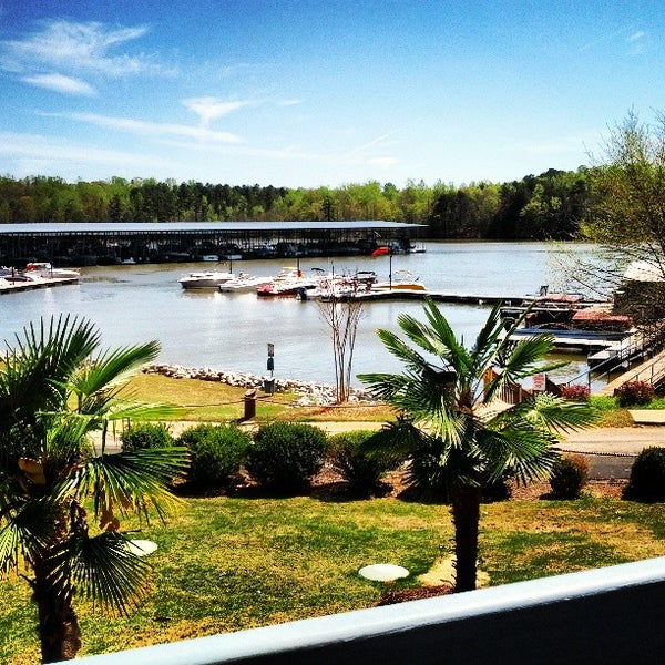 Photo taken at Fish Tales Lakeside Grille by Evan C. on 4/13/2013