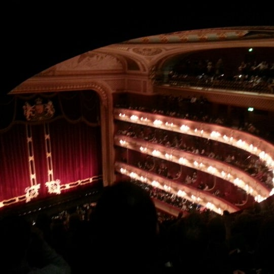 Photo taken at Royal Opera House by David G. on 2/7/2013