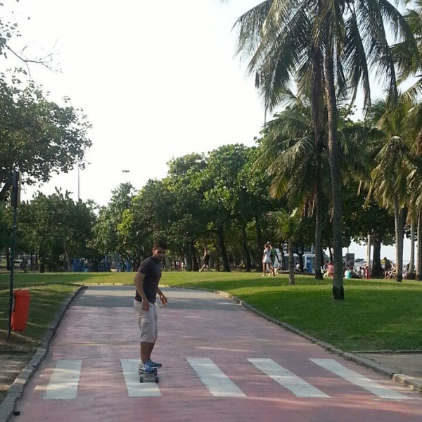 Photo taken at Aterro do Flamengo by Aguinaldo F. on 4/27/2013