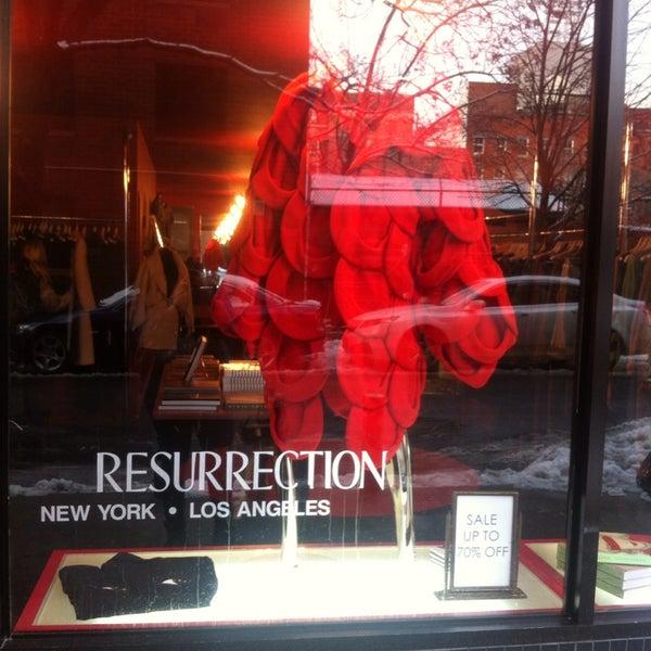 resurrection vintage clothing nolita 6 tips