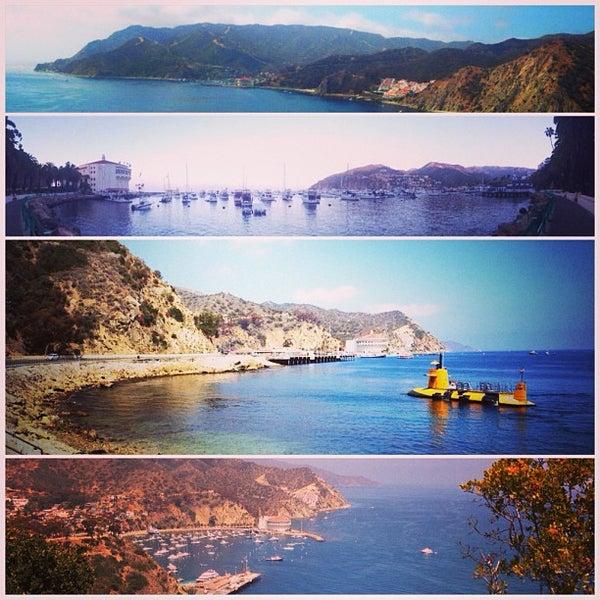 Photo taken at Santa Catalina Island by Brittainy T. on 6/1/2013