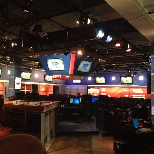 Photo taken at ESPN by Joey A. on 1/11/2014