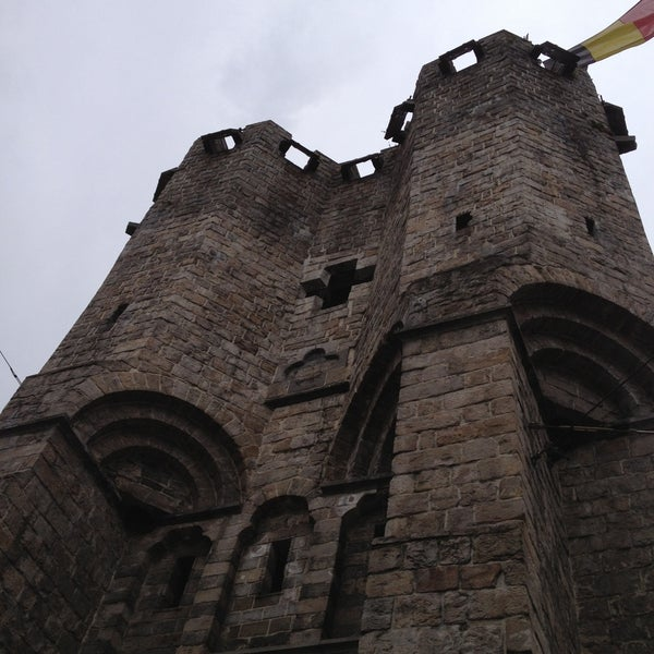 Photo taken at Gravensteen / Castle of the Counts by Nadine B. on 4/13/2013