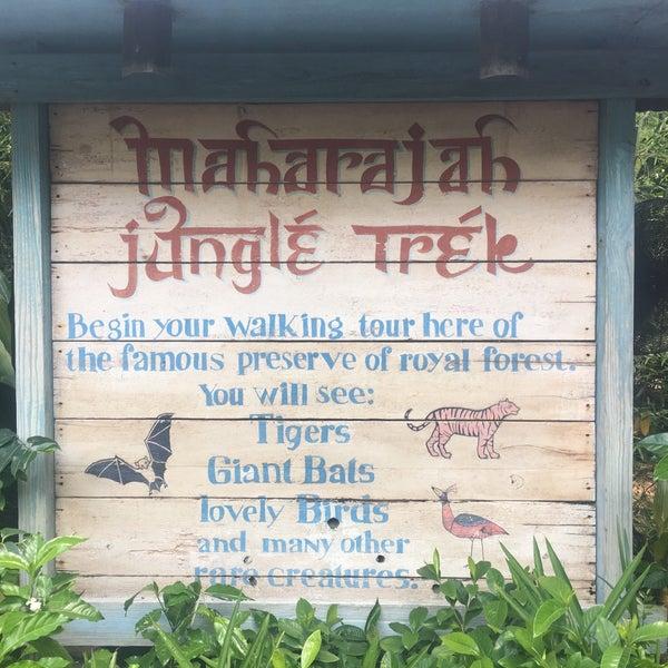 Photo taken at Maharajah Jungle Trek by Chris P. on 5/23/2016