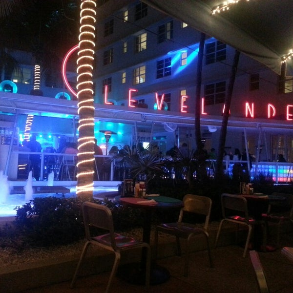 Photo taken at Clevelander by Guillermo M. on 3/3/2013