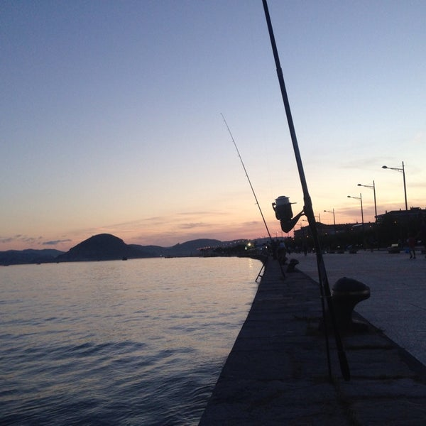Photo taken at Santoña by Borja on 8/5/2015