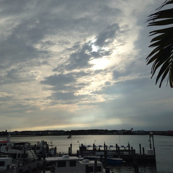 Photo taken at Marina Deck Resturant by Amanda M. on 6/19/2014