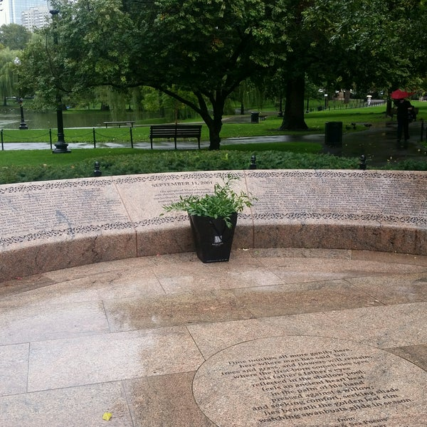 Photo taken at Massachhusetts 9/11/2001 Memorial by Riane S. on 9/19/2016