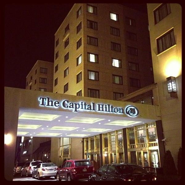 Capital Hilton Hotel In Connecticut Avenue K Street