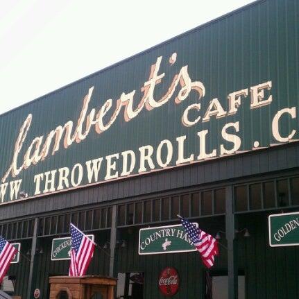Photo taken at Lambert's Cafe by Jamie M. on 9/21/2012