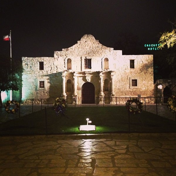 Photo taken at The Alamo by Nick J. on 3/8/2013