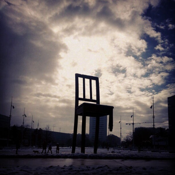 Photo taken at Palais des Nations by Helmie Z. on 2/17/2013